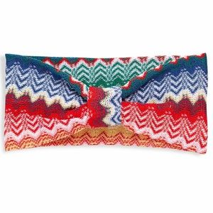 Missoni knit chevron headband